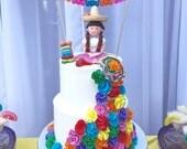Custom Papel Picado Cake Topper