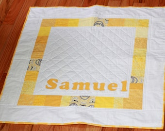 Baby Name Quilt Custom