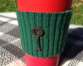Christmas Coffee is Key to My Heart Cup Cozy