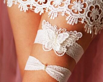 Wedding Bridal Garter Set Belts