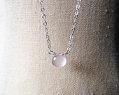 Fertility/Pregnancy Necklace, Fertility Jewelry, Rose Quartz Necklace, Bohemian Ruby, Healing Gemstone, Layering Necklace, Gift for Her
