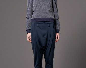 Cropped Baggy pants