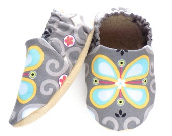 Flower Baby Girl Shoes, Crib Shoes, Baby Booties, Baby Girl Soft Shoes, Flower Baby Shoes, Soft Sole, Slip On Baby Shoes, Baby Girl Gift