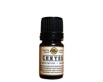 Center Essential Oil Blend for Meditation & Grounding 5 ml