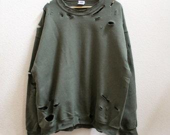 Distressed Unisex Sweatshirt style 2