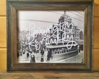 Historic Lexington KY -  art print