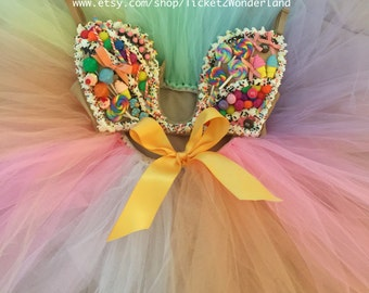 Candy Rave Outfit Bra & Tutu