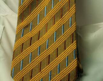 ERMENEGILDO ZEGNA Silk Printed Tie