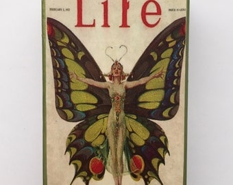 "Life ""The Flapper"" Altered Matchbox"
