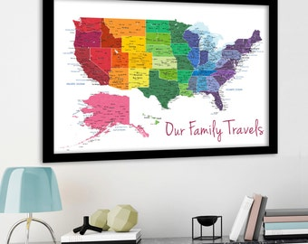 Us map etsy gumiabroncs Choice Image