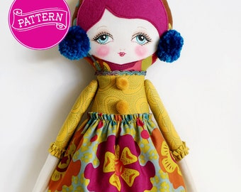Matilda - PDF Pattern Cloth Doll