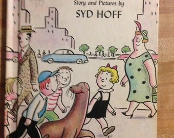 Sammy the Seal by Syd Hoff a Vintage 1959 Hardcover I Can Read Series Children's Book