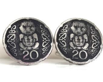 245: New Zealand 20 cent CuffLinks