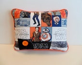 Star Wars Pillow , Star Wars Droid BB-8, Star Wars Decor , Personalized Pillow , The Force Awakens