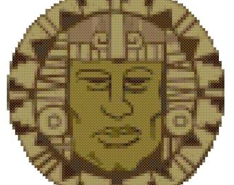 Legends of the Hidden Temple cross stitch pattern