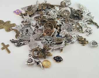 Mixed Pendant Charm Grab Bag Mystery Lot