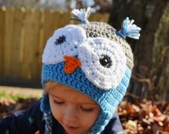 Little Owl Hats-You Pick Color