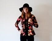 Floral Print Cardigan | Autumn Cardigan