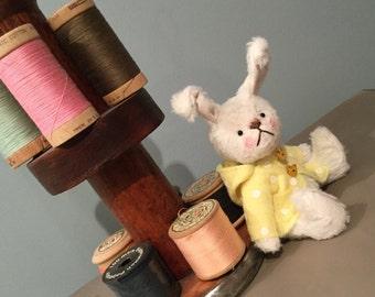 Titchie - One of a Kind Miniature Artist Bear (Bunny)