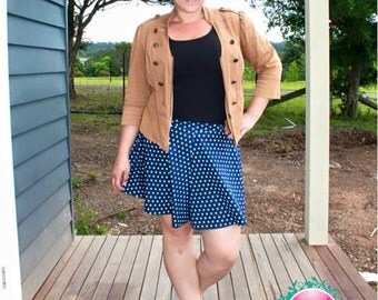 PATTERN Ladies Swing Shorts - PDF Sewing Pattern - Instant Download - Pattern Emporium