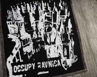 "Magic the Gathering ""Occupy Ravnica"" serged BACK Patch"