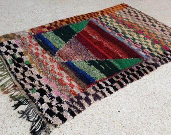 100 laine tapis marocain fait main de mrirt par moroccantribal. Black Bedroom Furniture Sets. Home Design Ideas