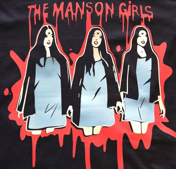 Manson Girls t-shirt- Charles Manson- Manson Family crew
