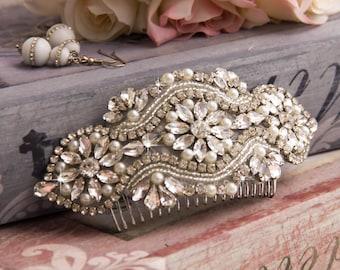 Bridal Hair comb, Wedding Hair comb, Bridal Hair Accessories, Crystal Hair comb, Rhinestone Hair Comb, Bridal Head Piece,Wedding Accessories
