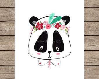 Art Print - Leni Panda - 210x297 mm