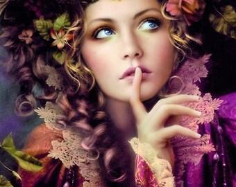 Tatiana Perfume Mist 1/2 oz.  Seelie Court Fairy Perfume, Fantasy Perfume, Faery Perfume, Faerie Perfume, Celtic Perfume, Sidhe Perfume