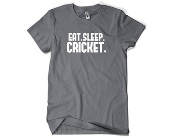 Cricket Shirt-Eat Sleep Cricket Gift Men Women