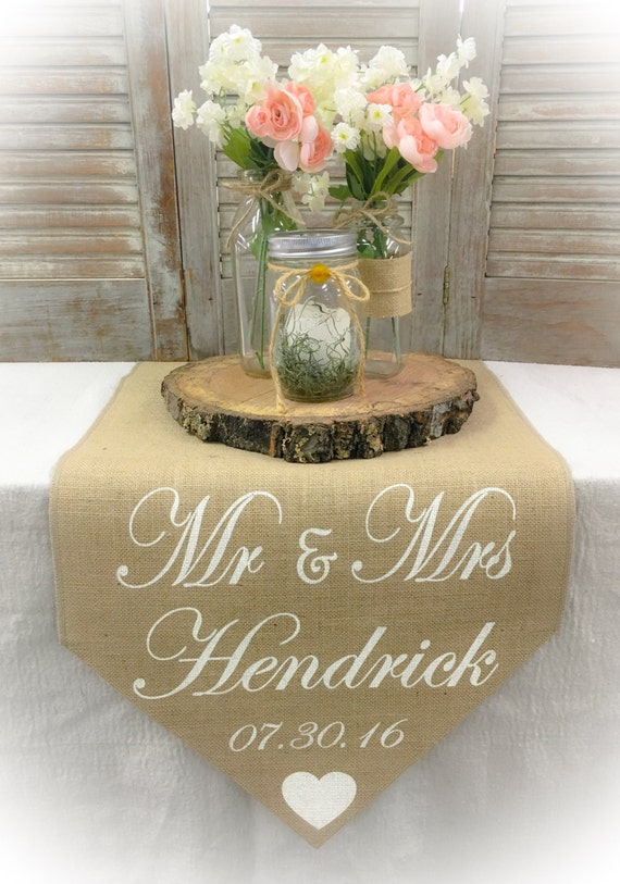 Wedding Gifts For Runners : ... sweetheart table Sweetheart runner Wedding runner Wedding gift