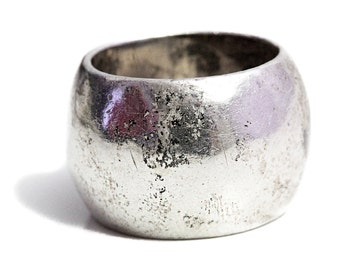 Ring Artisan wider Sterling Silver Jewelry