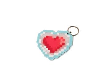 Zelda Heart Container Keychain