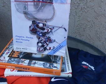 Hockey Reference Book INSIDE HOCKEY Hardcover Book Hockey Photos The Great One Stanley Cup Ice Hockey NHL History Hockey Fan Collection