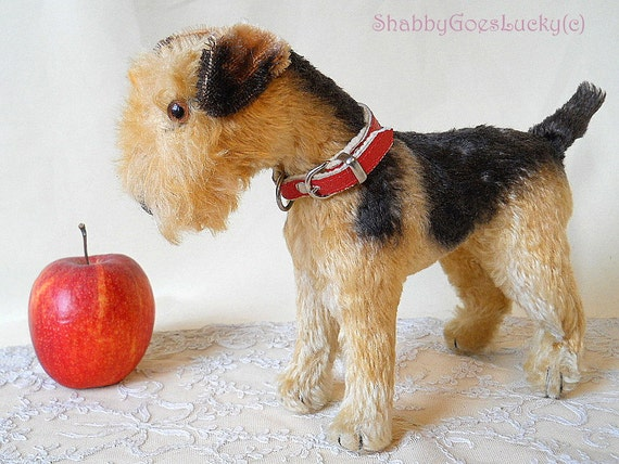 Steiff Airedale Terrier Terry Produced 1950 57 Only In
