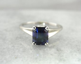 The Perfect Sapphire, High Mounted Sapphire Engagement Ring  UXJ8H9-N
