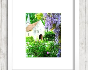 White Country Church Etsy