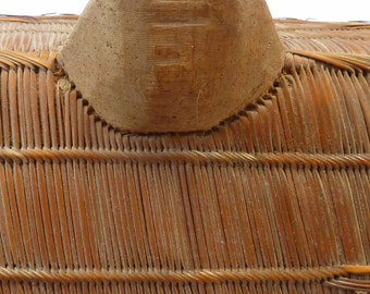 Fabulous Condition & Highly Collectable Finely Woven African Uganda / Ganda Shield. Early 20th Century