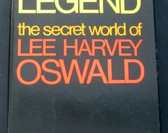 Legend, The Secret World of Lee Harvey Oswald, Edward Jay Epstein, JFK Assassination, collectible vintage book