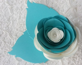 20 LARGE PAPER FLOWERS