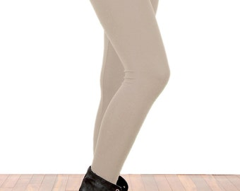 Nude Mocha Tan Leggings