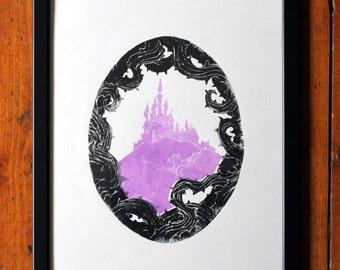 Sleeping Beauty's Castle Poster Print