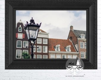 Lamp Post in Amsterdam - Narnia, Amsterdam, Dutch, Architecture, The Netherlands