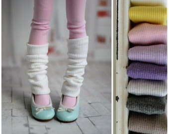 Legwarmers different colors for MSD bjd doll