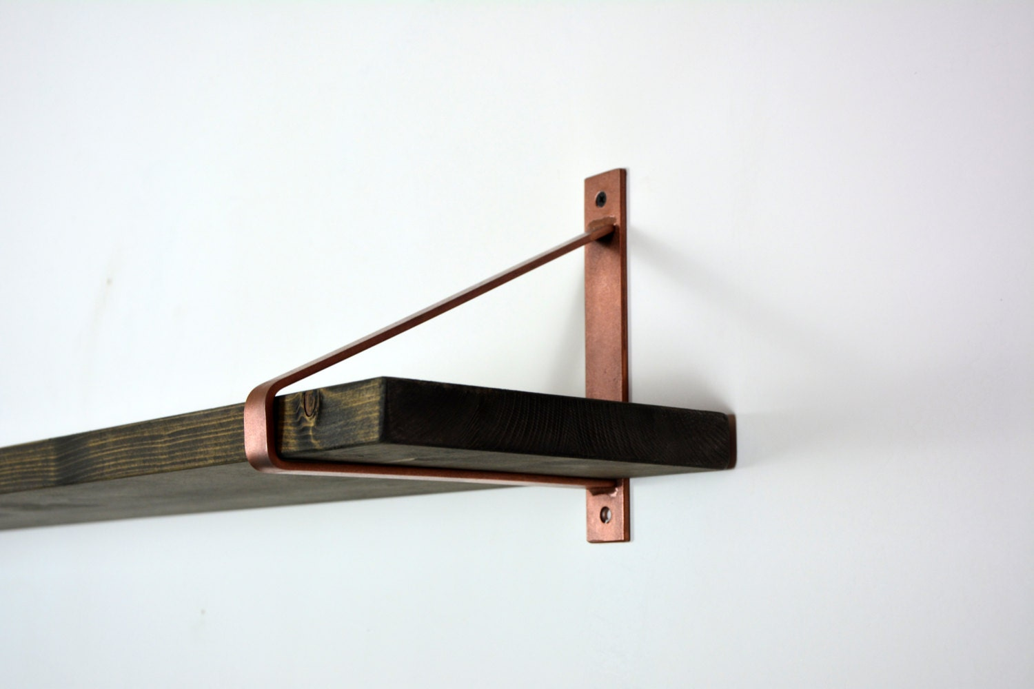Pair Of Copper Steel Brackets Newest Design Shelf
