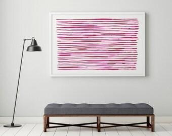 Large Wall Art, Abstract Art Print, Modern Art, Large Abstract Print, Watercolor Abstract, Minimalist Art, Large Abstract Painting, Kunst