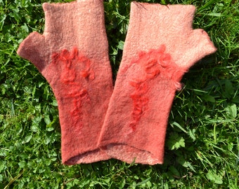 mittens felted