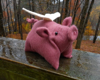 Flying Pig Stuffed Animal