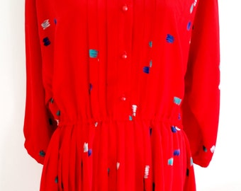 Reworked Vintage Dress-Cora